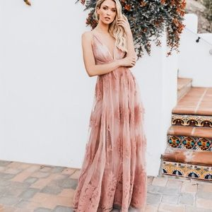 VICI | Antonia Dress Maxi Dress Mauve